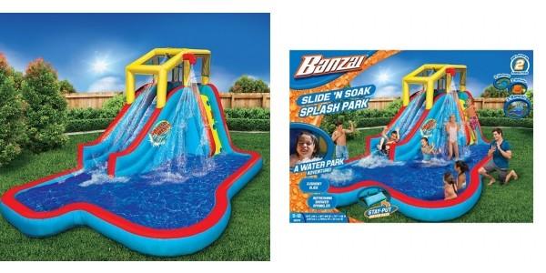 Banzai Slide 'N Soak Splash Park Only $210 (Reg. $600) @ Kohl's