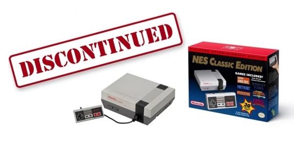 Nintendo NES Classic Editions Discontinued!