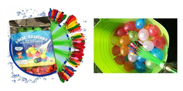 150 Instant Fill Magic Water Balloons $5 + Free Shipping @ eBay