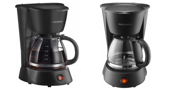 Insignia 5-Cup Coffeemaker $6 @ Best Buy