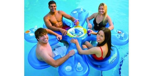 Aviva Ahh-Qua Bar Pool Float Only $39 @ Amazon