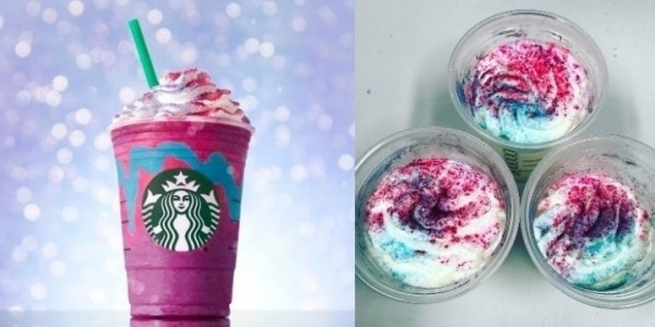 Starbucks Launches New 'Unicorn Frappucino'