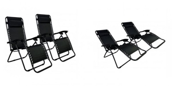 2 Zero Gravity Chairs $39.99 (w/ Paypal Checkout) @ eBay