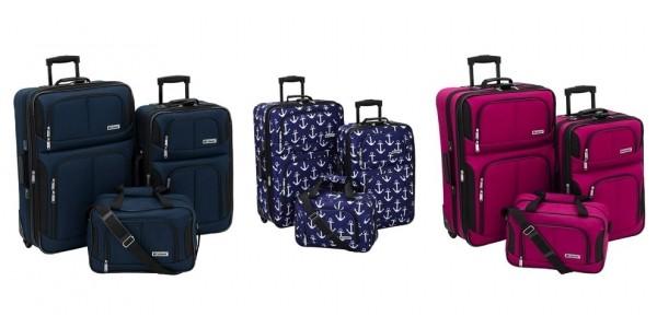 Leisure Trio 3-Piece Luggage Sets Just $51 + $10 Kohl's Cash @ Kohl's