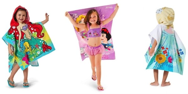 40% Off Disney Heroines Collection = Hooded & Beach Towels Just $10 @ Disney Store