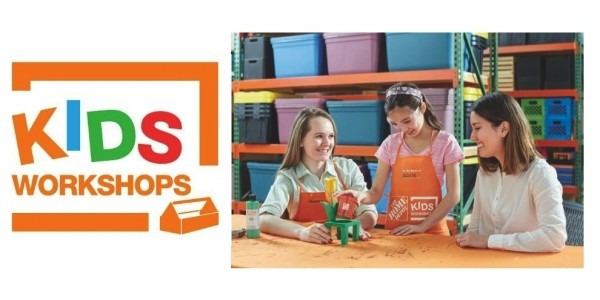 Free Mother's Day Build Kids Workshop 5/6/17 @ Home Depot