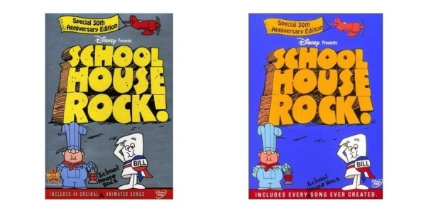 Schoolhouse Rock! Special 30th Anniversary Edition 2-Disc DVD Set $7 @ Amazon