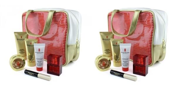 7 Piece Elizabeth Arden Cosmetic Bag And Makeup Gift Set $21 @ Tanga