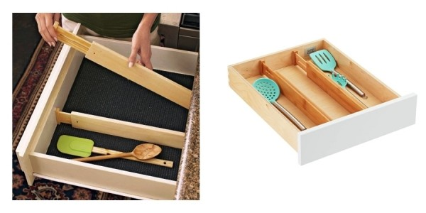Wooden Drawer Dividers $15 Each @ Lowe's