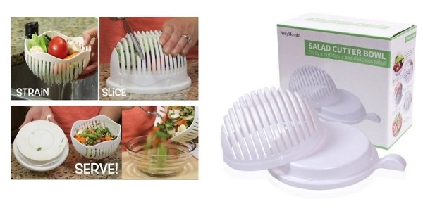 60-Second Salad Maker Bowl $5 Shipped @ eBay