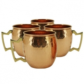 Set of 4 Moscow Mule Mugs $9.99 Shipped!