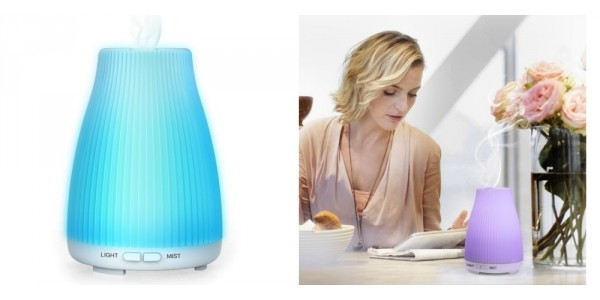 Color Changing Essential Oil Diffuser $7.49 (w/ Code) @ Amazon