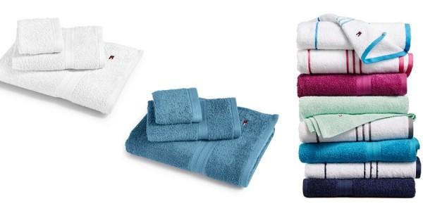 Tommy Hilfiger Cotton Bath Towels $4.99 (Reg. $14) @ Macy's