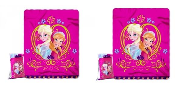 Frozen Anna And Elsa Backpack & Throw Sleepover Set Under $5 @ Target