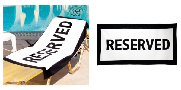 Reserved Beach Towels Just $16.50 @ Amazon