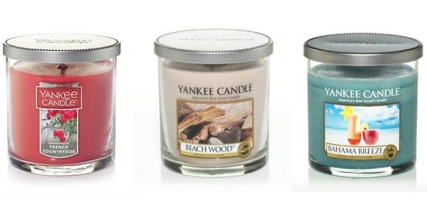 Buy 1, Get 2 Free Small Tumbler Candles w/ Code @ Yankee Candle