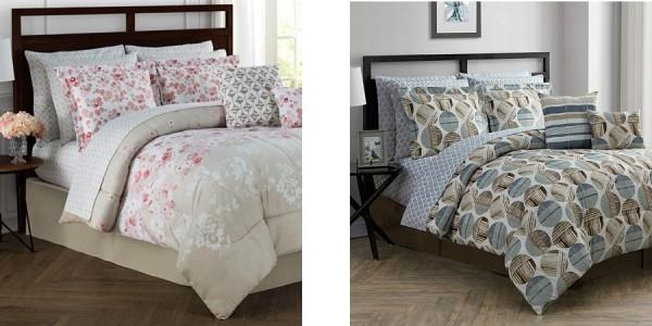 12 Piece Reversible Bedding Sets $40 @ Macy's
