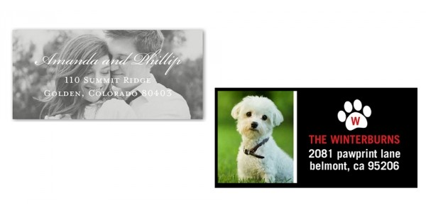 Today Only Free Personalized Address Labels @ Shutterfly