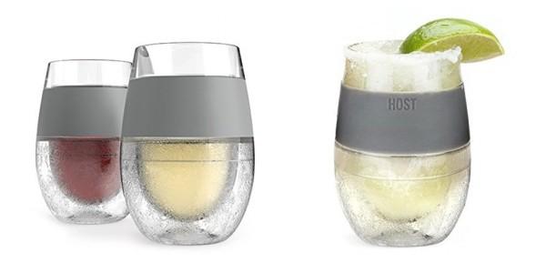 2 Pack Freeze Cooling Wine Glasses $20 @ Amazon