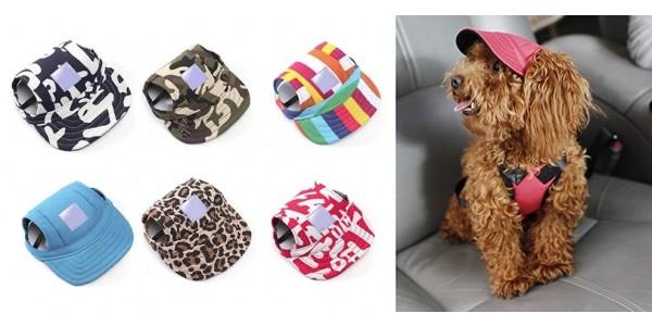 Dog Baseball Caps Just $3 Each @ Wish