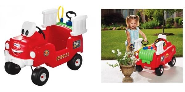 Little Tikes Spray & Rescue Fire Truck $51 @ Walmart