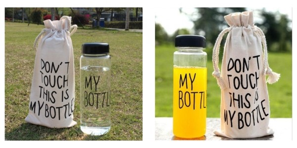Don't Touch This Is My Bottle And Bag Set $3 @ eBay