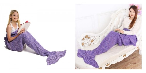Big Mermaid Tail Blanket $6 (w/ Code) @ Amazon