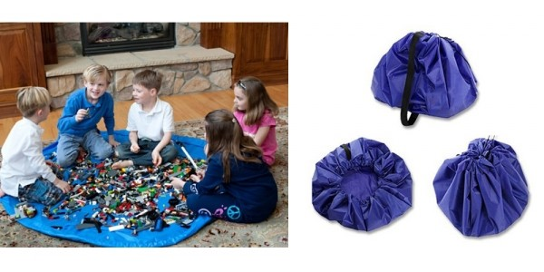Lego Play Mat Coverts To Hold All Blocks $7 @ eBay