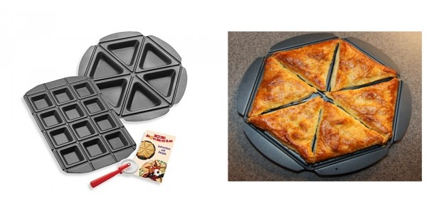 EZ Pockets Pie And Pocket Bakeware Set $7 @ eBay