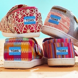 40% Off Toms Shoes @Zulily!