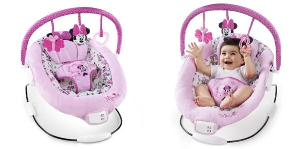 Disney Minnie Mouse Garden Delights Baby Bouncer $22 @ Amazon