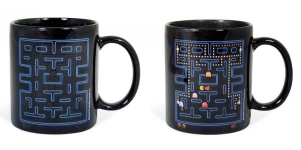 Pac-Man Heat Changing Mug $6 @ Amazon