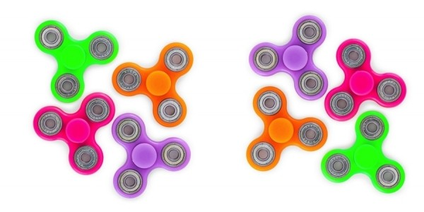 Glow In The Dark Fidget Spinners $5 @ Hollar