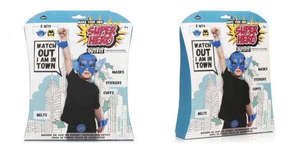 Make Your Own Superhero Outfit Kit $7 @ Amazon