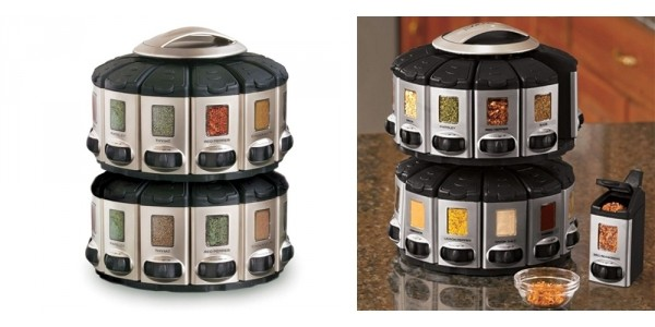 Auto-Measure Spice Rack $27.99 (Reg. $40) @ Groupon