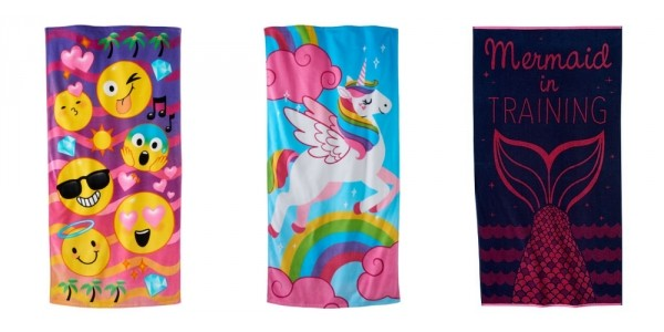 Character Beach Towels $8 (Reg. $30) @ Kohl's