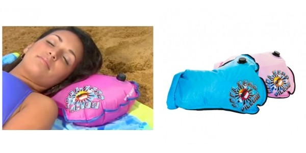 Cool Head Refillable Beach Water Pillow $7 Shipped @ GearXS