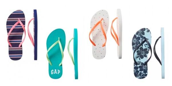 Gap Logo Flip Flops $2.99 (Reg. $7.99) @ Gap Factory