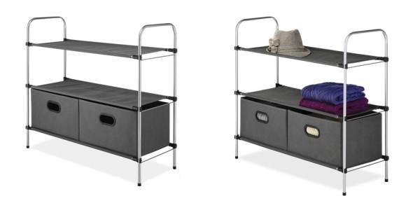 Whitmor Portable Closet Organizer $16 @ Amazon