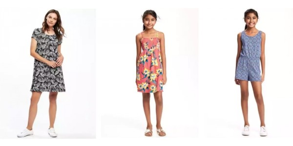Today Only Dresses And Rompers Under $10 @ Old Navy