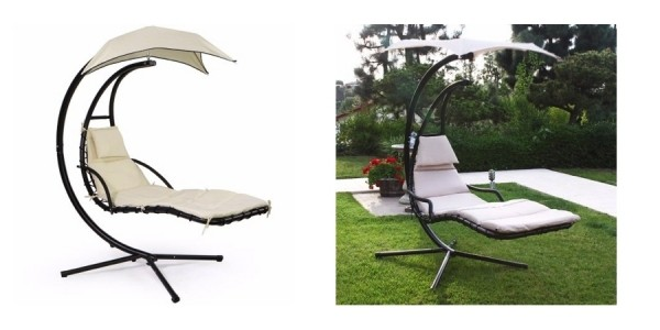 Swinging Hammock Hanging Chaise Lounger Chair​ $139 Shipped @ Walmart