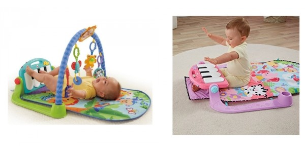 2 In 1 Fisher-Price Kick And Play Piano Gym 50% Off @ Amazon