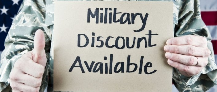 List of 40+ Military Discounts Members of the military and veterans get a big thanks and discounts from these retailers, restaurants and more. List of 40+ Military Discounts Members of the military and veterans get a big thanks and discounts from these retailers, restaurants and more.