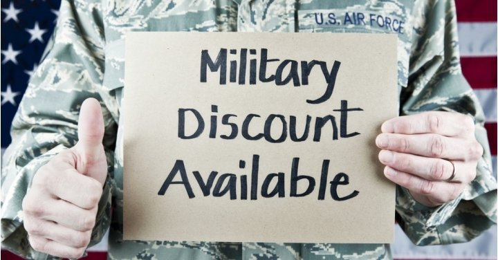 100 stores restaurants that offer military discounts