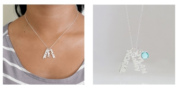 Personalized Name Necklace From $5 @ Groupon