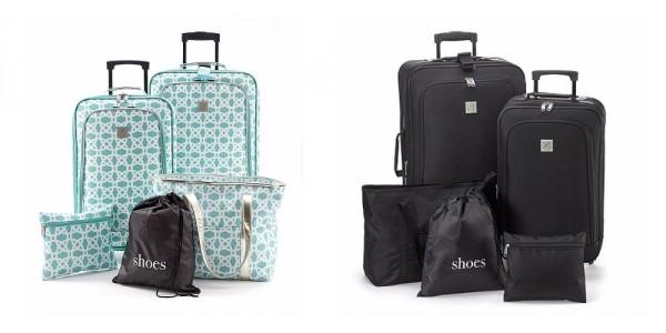 TravelQuarters 5 Piece Luggage Set $45 (w/ Code) @ Bon-Ton