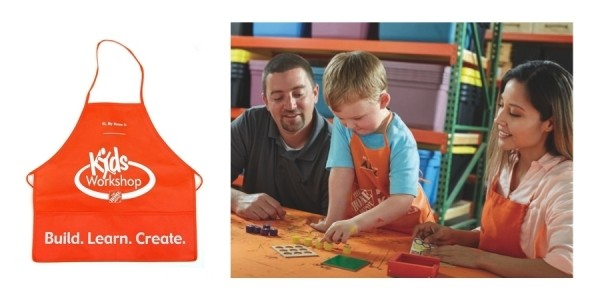 Free Kids DIY Workshop Tic Tac Toe Game Build This Weekend @ Home Depot