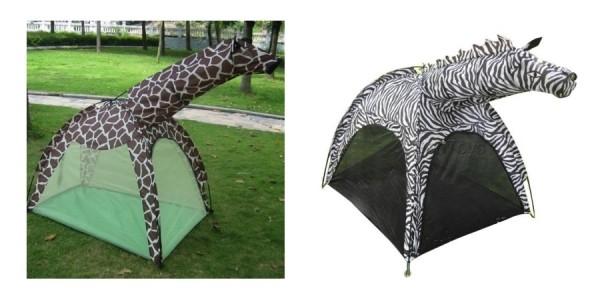 Portable Giraffe (Or Zebra) Play Tent $29 Shipped @ eBay