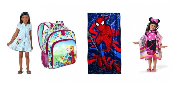 It's Back! Today Only: Personalized Beach Towels Just $9 + Backpacks $13 @ Disney Store