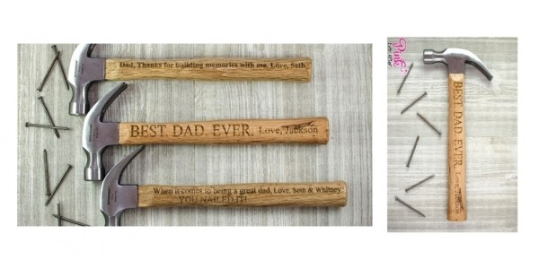 Engraved Father's Day Hammer Just $15 @ Jane